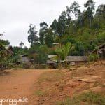 Dorf Langhalsfrauen