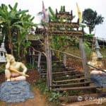 Sutongpe Bridge Tempelaufgang