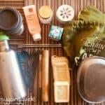 nachhaltige Reisegegenstände