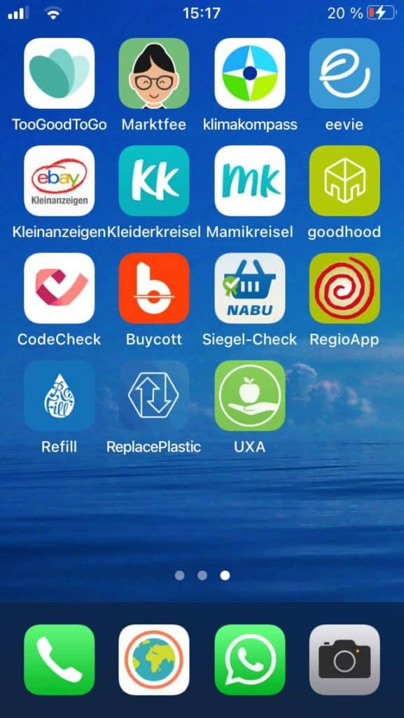 Nachhaltige Apps