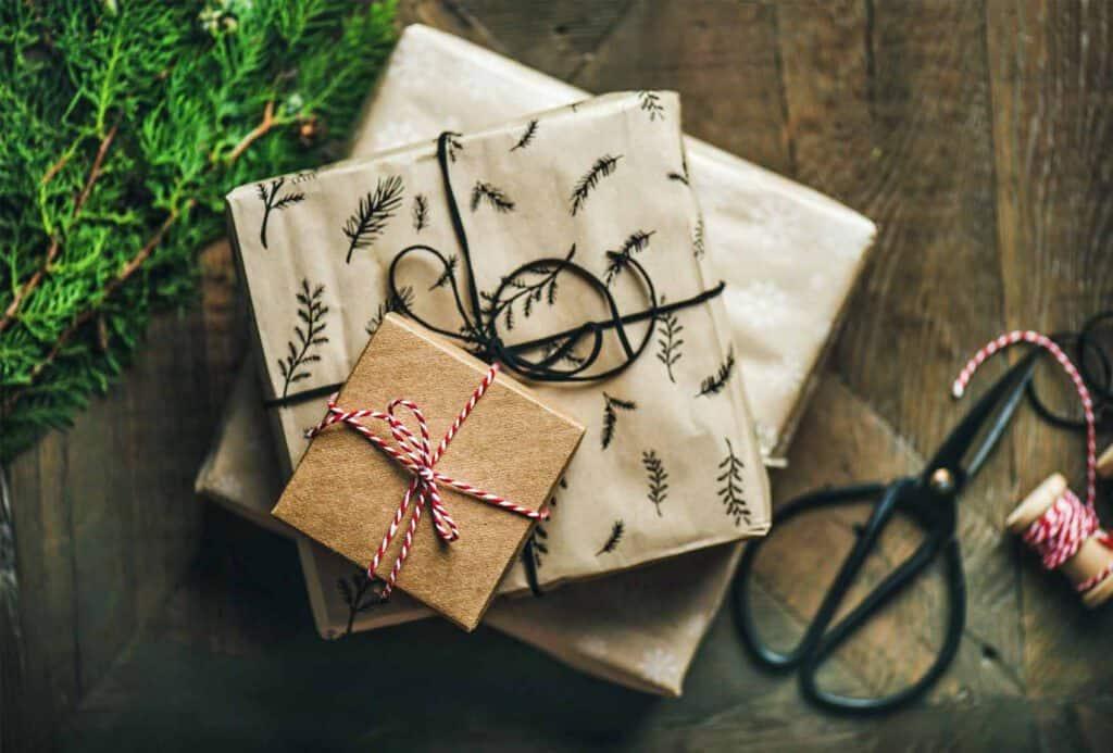 Nachhaltig Geschenke verpacken